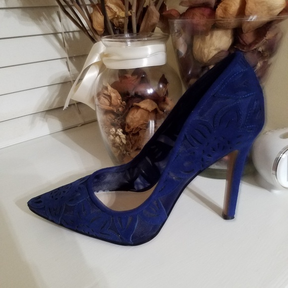 01b78248f1c5 Jessica Simpson Shoes - Jessica Simpson Charese Deep Azul Pumps